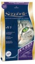 غذای خشک گربه سانابل -گربه های بالغ -2 کیلو-با سه طعم شتر مرغ - مرغ و ماهی