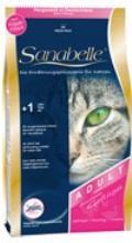 غذای خشک گربه سانابل -گربه های بالغ -2 کیلو-با طعم مرغ