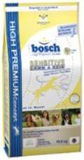 غذای خشک بوش Sensitive برای سگ های حساس 1 کیلویی