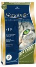 غذای خشک گربه دانه درشت . محصول سانابل 400 گرمی
