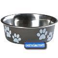 ظرف غذای گربه و سگ استیل
