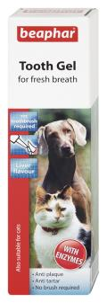 ژل خوشبوکننده دهان و ضد جرم دندان سگ و گربه
