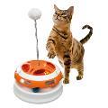 اسباب بازی گربه ورتیگو - دو توپه فنری