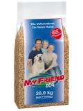 غذا خشک سگ My Friend این محصول 20 کیلویی میباشد
