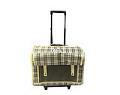 کیف حمل برزنتی برای سگ ها و گربه چرخ دار