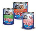 کنسرو 800 گرمی گربه میگلیور در دو طمع
