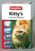 اسنک گربه همراه با تورین و بیوتین 180 عددی