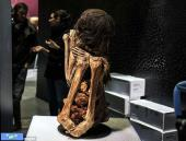 نمایش مومیایی هزار ساله زن پرویی